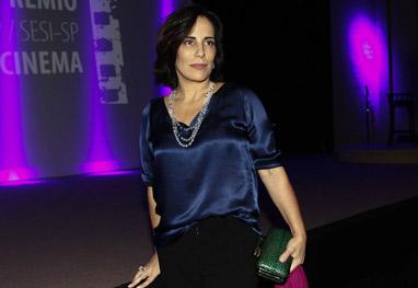 Gloria Pires recebe prêmio de melhor atriz de cinema - Cláudio Augusto/Photo Rio News