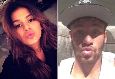 Neymar e Bruna Marquezine continuam trocando mensagens - Reprodução