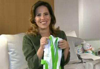 Grávida, Wanessa conta que engordou 12kg e continua usando salto - Mais Você/TV Globo