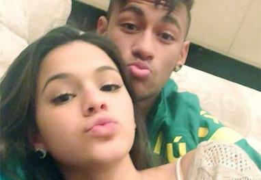 Neymar compra aliança para Bruna Marquezine, diz jornal - Reprodução