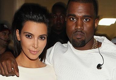 É Oficial! Kim Kardashian e Kanye West estão casados - Getty Images