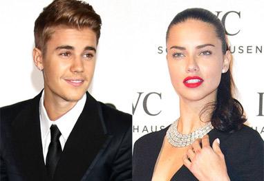 Revista assegura que Justin Bieber e Adriana Lima estão 'ficando' - Getty images