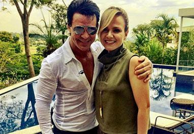 """Eliana grava na casa de Eduardo Costa e ganha elogios do cantor: """"Simplesmente encantadora"""" - Reprodução/Instagram"""