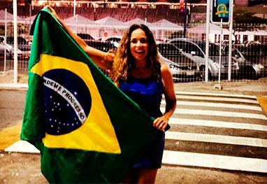 Daniela Mercury mostra seu lado patriota - Reprodução/Instagram