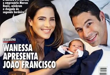 Wanessa cantou durante o parto de José Francisco - Reprodução