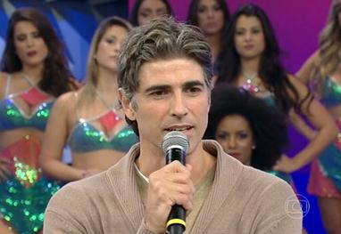 Reynaldo Gianecchini diz que a vida é feita de gratidão - Reprodução TV Globo