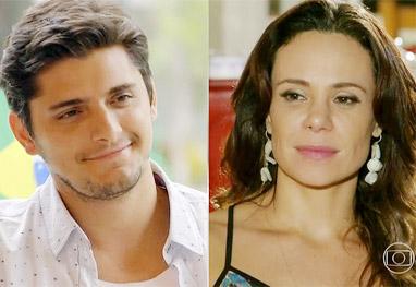 Vanessa Gerbelli e Bruno Gissoni estão no elenco da nova Dança dos famosos - TV Globo / Em Família