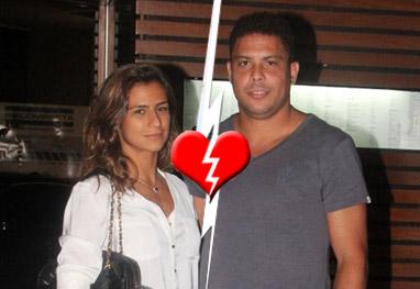 Ronaldo e Paula Morais terminam o noivado, diz revista - Ag.News