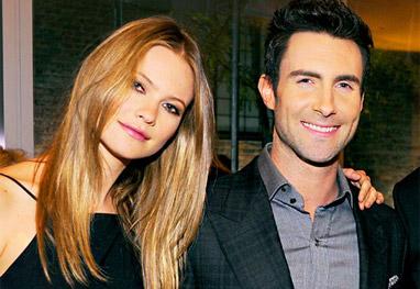 Adam Levine se casa com a modelo Behati Prisloo - Grosby Group