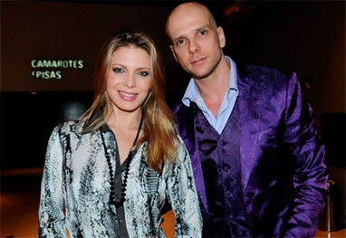 Fernando Scherer veta ensaio nu de Sheila Mello na Playboy - AgNews