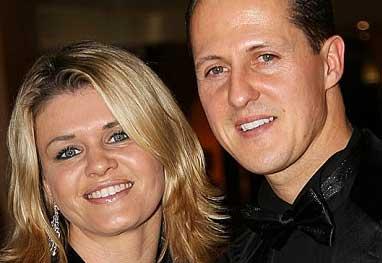 Mulher de Schumacher coloca avião do piloto à venda - Getty Images