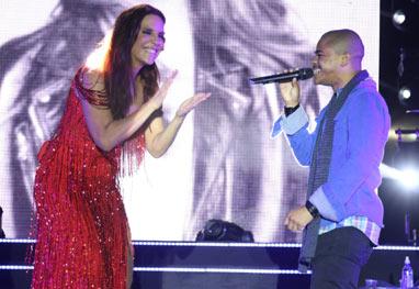 Ivete Sangalo faz dueto com Pedro Lima, ex-The Voice Brasil - Fred Pontes/Divulgação