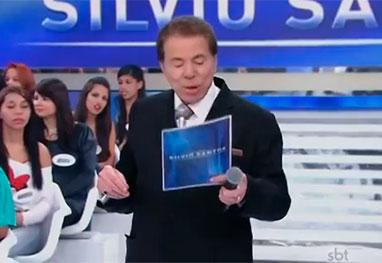 Vídeo! Silvio Santos tem ataque de risos durante programa - Reprodução/YouTube