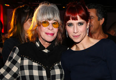 Rita Lee e Mel Lisboa se encontram na plateia de musical - Manuela Scarpa/Photo Rio News