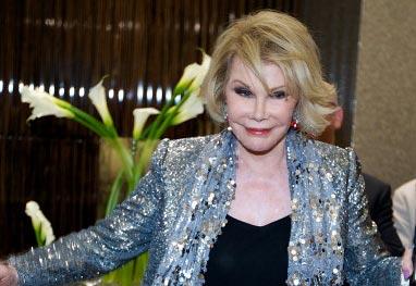 Filha conta que estado de Joan Rivers é bastante crítico - Getty Images