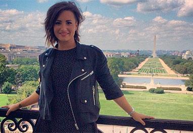 Demi Lovato vai à Washington e pressiona Congresso a aprovar lei de saúde mental - Reprodução/Instagram
