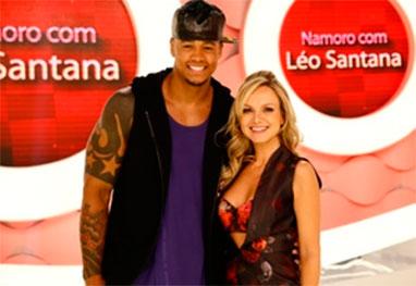 Léo Santana fala de suposto namoro com Eliana - Reprodução/SBT