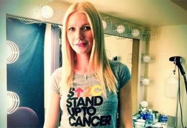 Gwyneth Paltrow e mais famosos apoiam evento de luta contra o câncer - Reprodução/Instagram