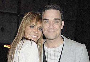 Mulher de Robbie Williams quer ter parto em Los Angeles - Getty Images