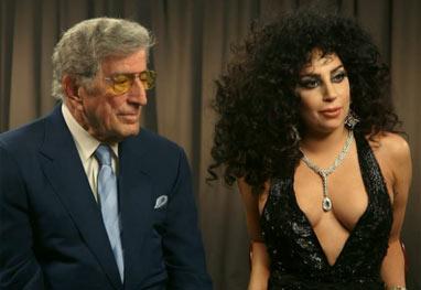 Lady Gaga cogita seguir cantando jazz, após parceria com Tony Bennett