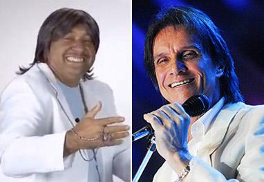 Tiririca é processado por uso indevido de música e imagem de Roberto Carlos - Ag News