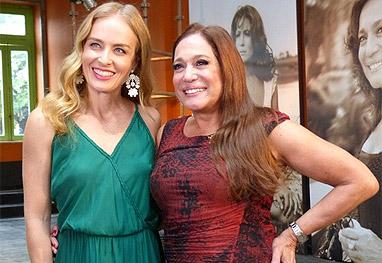Susana Vieira grava com Angélica e fala que 'nunca se preocupou em ficar velha' - Estrelas/TV Globo