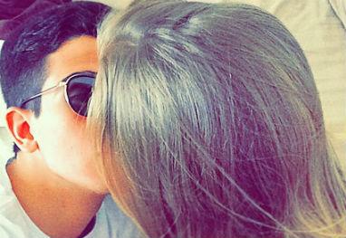 Enzo Celulari posta foto romântica com a namorada - Reprodução/Instagram