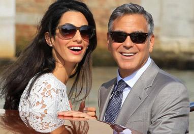 Tablóide afirma que George Clooney e a mulher estão adotando três crianças - Grosby Group