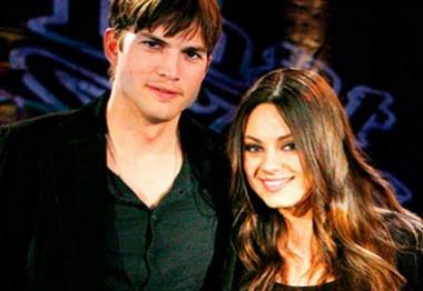 Ashton Kutcher e Mila Kunis anunciam nome do bebê do casal