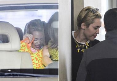 Miley Cyrus aterrissa na Argentina