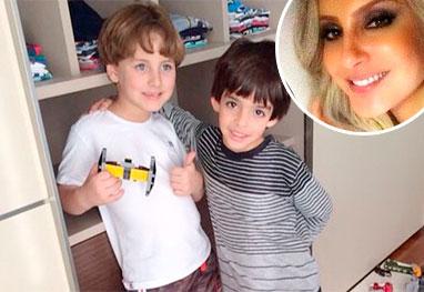 Filhos de Kaká e Claudia Leitte brincam juntos | Ofuxico