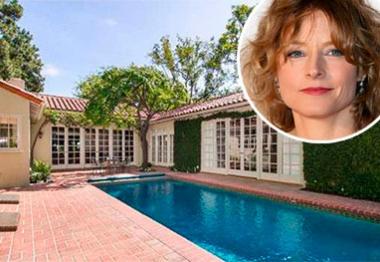 Jodie Foster vende sua mansão por US$ 5 milhões