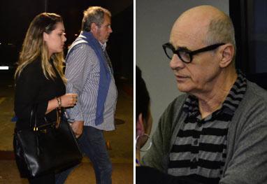 Tânia Mara, Marcos Caruso e mais amigos vão ao velório do filho de Manoel Carlos  - AgNews