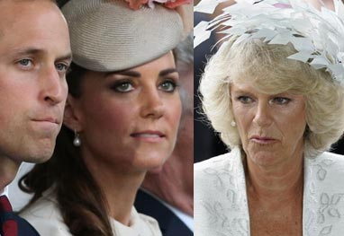 Camilla Parker inferniza Kate Middleton por conta da escolha do nome do bebê  - Getty Images