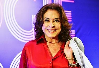 Betty Faria conta que se afastou da TV devido a plástica mal feita - TV Globo / Estevam Avellar