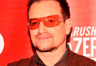 Bono explica porque usa óculos escuros o tempo todo - Getty Images