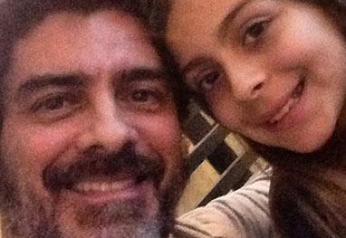 Pai orgulhoso! Junno Andrade presta homenagem à filha - Instagram