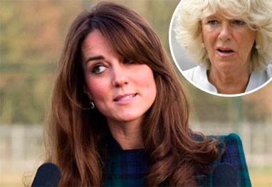 Kate Middleton bane Camilla Parker-Bowles do contato com os seus filhos - Getty Images