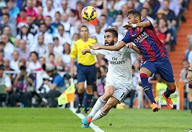 Neymar marca, mas Real Madrid de Cristiano Ronaldo vence clássico na Espanha