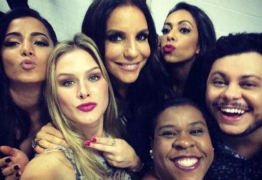 Ivete Sangalo, Anitta e outros famosos prestigiam peça de teatro no Rio - Reprodução/Instagram