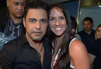 Namorada de Zezé Di Camargo ganha cadeira erótica de presente - Ag News
