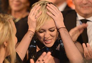 Miley Cyrus diz que doou quase R$ 1 milhão para a AmFAR pois estava de porre - Getty Images