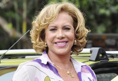 Arlete Salles comemora a cura de um câncer de mama - Divulgação/TV Globo/Estevam Avellar