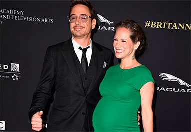 Nasce a filha de Robert Downey Jr - Getty Images