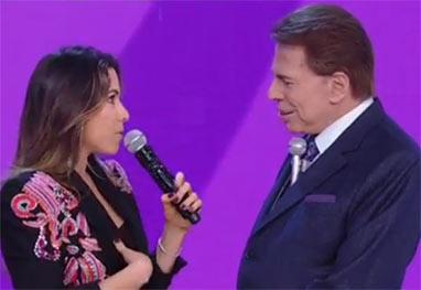 Silvio Santos e Patrícia Abravanel encerram o Teleton 2014 com arrecadação de R$ 30 milhões - Reprodução/SBT