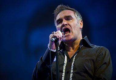 Indignado com fã, Morrissey encerra show na metade da apresentação - Getty Images