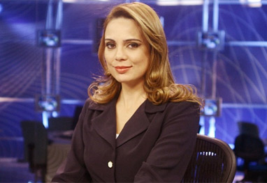 Rachel Sheherazade revela que anda de carro blindado por conta de ameaças - Reprodução
