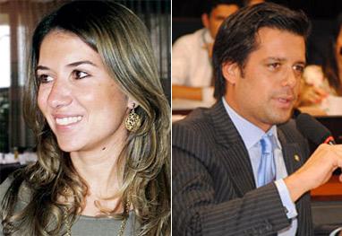 Assim como Patrícia Abravanel, outra filha de Silvio Santos está namorando um deputado federal - Ag News