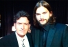 Ashton Kutcher fala sobre a volta de Charlie Sheen a Two And A Half Men -