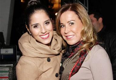 Camila Camargo frequenta curso de auto-ajuda com sua mãe, Zilu - Ag.News